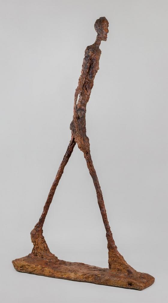 알베르토 자코메티, 걷는 남자, 1960 ⓒ Alberto Giacometti Estate / SACK, Seoul, 2017
