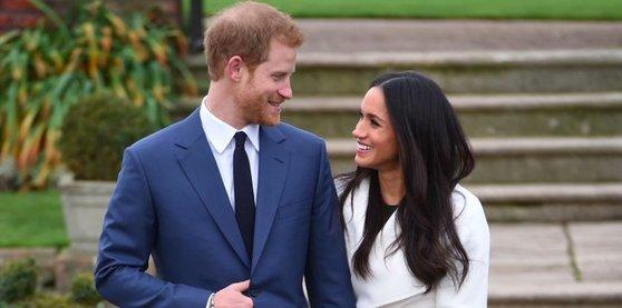 5월 19일 결혼하는 해리 왕자와 메건 마클. [중앙포토]