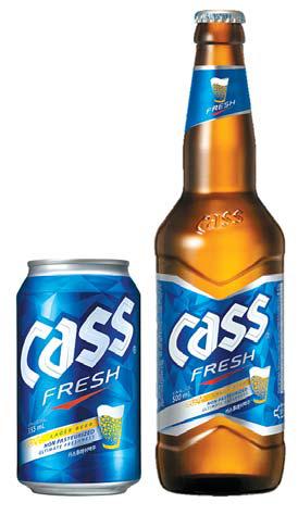 카스는 브랜드 선호도·점유율에서 1위를 차지하며 국내 대표 맥주로 자리 잡았다.