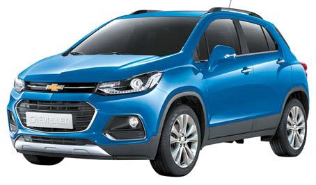 한국GM의 쉐보레 더 뉴 트랙스는 세련된 도심형 소형 SUV의 존재감을 부각시켰다.