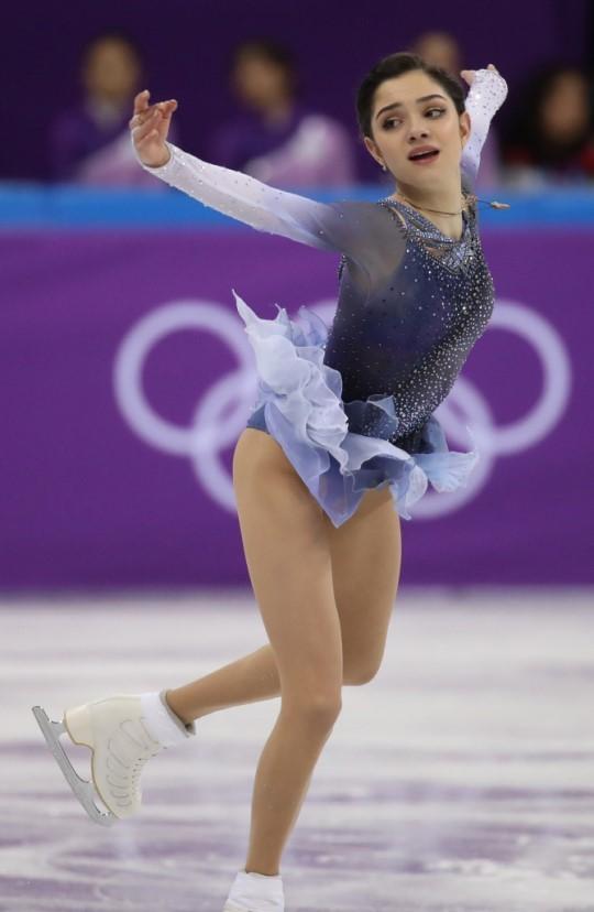 Evgenia Medvedeva. Photo from YONHAP