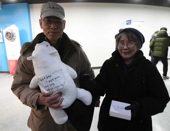 그리핀의 할아버지와 할머니. 1980년대에 가족을 데리고 미국에 이민 간 외할아버지는 한국에서 정부 고위 관료를 지냈다. 오종택 기자
