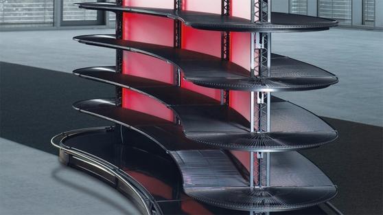 반츨은 쇼핑카트, 진열대 등 하드웨어부터 매장 디자인부터 전자식 출입구, 매장 관리 소프트웨어를 포함한 종합 솔루션을 제공한다.
