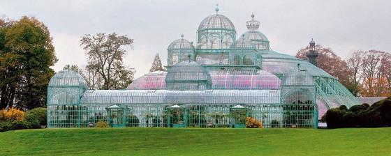 벨기에 라켄에 있는 국립 왕실 온실. 레오폴드 2세의 명으로 건설됐다. [벨기에 플랑드르 관광청 홈페이지]
