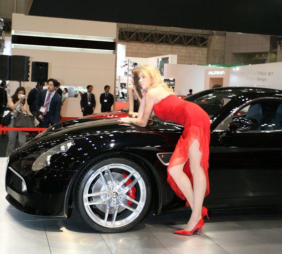 한국시장 진출설이 도는 피아트그룹의 자동차 브랜드 알파로메오의 '8C 콤페티치오네' [중앙DB]