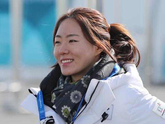 올림픽 3연속 메달을 따낸 한국 여자 스피스스케이팅 대표 이상화 [연합뉴스]