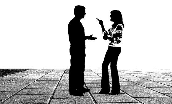 부부는 굳이 말로 하지 않아도 상대방이 자신의 입장을 알고 있을 것이라는 생각을 가지고 있다. [사진 pixabay]