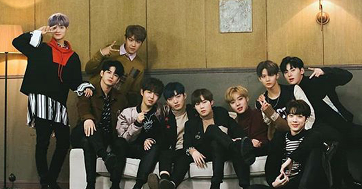 Photo from Instagram @wannaone.official