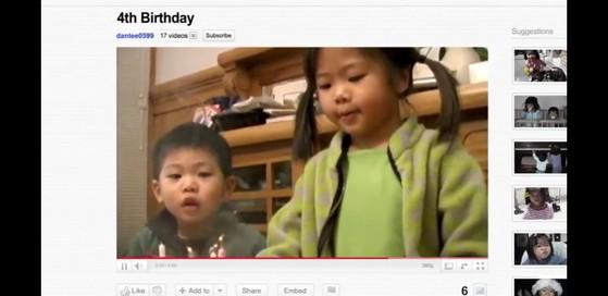 구글이 2011년 선보인 광고 '소피에게'의 한 장면. 가족애를 주제로 눈물샘을 자극하는 이 광고는 '새드버타이징(sadvertising)'의 효시로 꼽힌다. [사진 인터넷캡처]