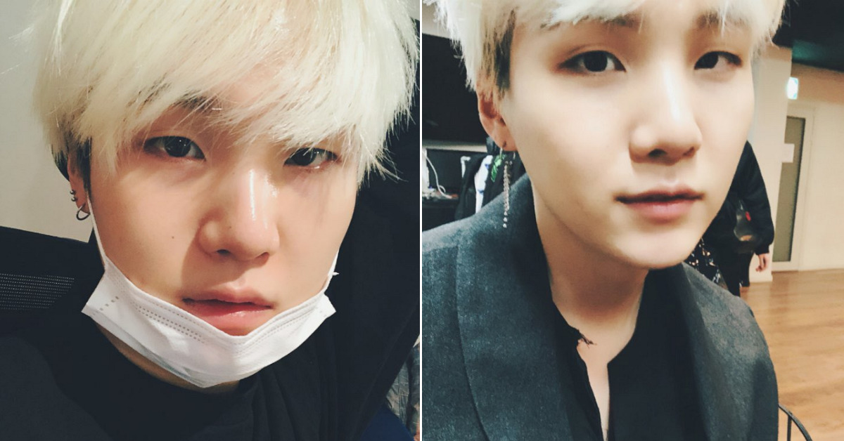 How BTS' SUGA Came to Share His Story of Battling Depression