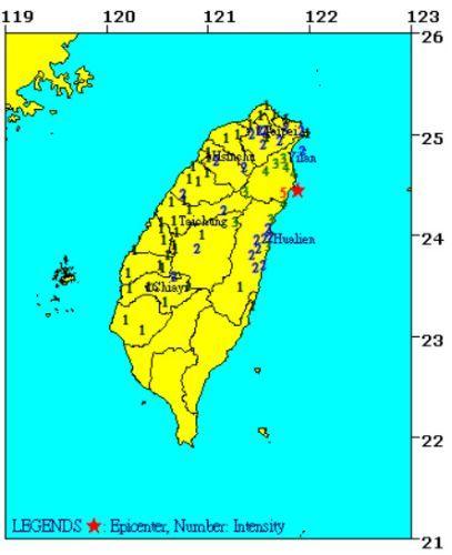 [사진 대만 중앙기상국]
