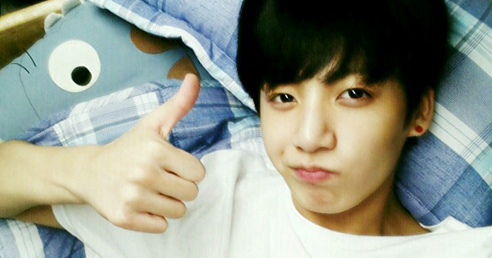BTS' Jungkook. Photo from KBS COOL FM Super Junior's Kiss the Radio.