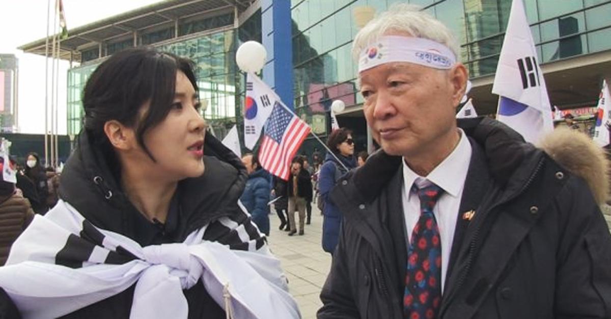 방송인 강유미와 서석구 변호사. [사진 SBS]