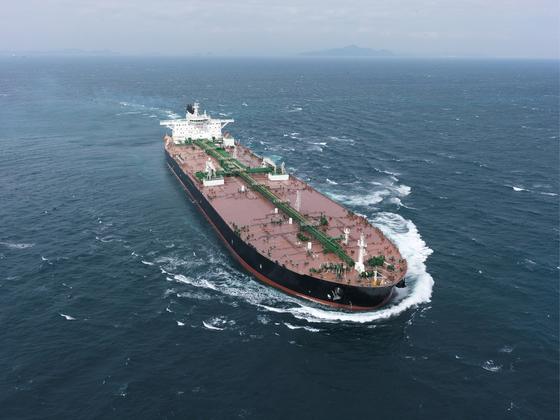 대우조선해양은 지난 27일 유럽 선주로부터 초대형 원유운반선 3척을 수주했다. [사진 대우조선해양]