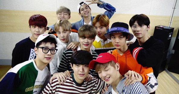 Photo from Wanna One Instagram
