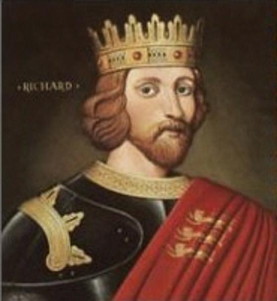 십자군 전쟁에서 여자와 어린아이 할 것 없이 무슬림을 무차별 살해해 악명을 떨친 리처드 1세. 사자왕으로도 불린다. [중앙포토]
