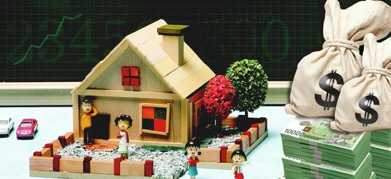 세법에서는 주택의 시가를 거래일 전후 3개월, 즉 6개월 매매사례가액을 시가로 정하고 있다. 만일 문씨가 자녀에게 양도하려는 주택이 아파트라면 같은 단지 내 유사한 아파트의 실거래가격이 기준이 된다. [중앙포토]