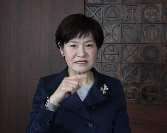 윤재연 블루원 사장. 정용수 기자