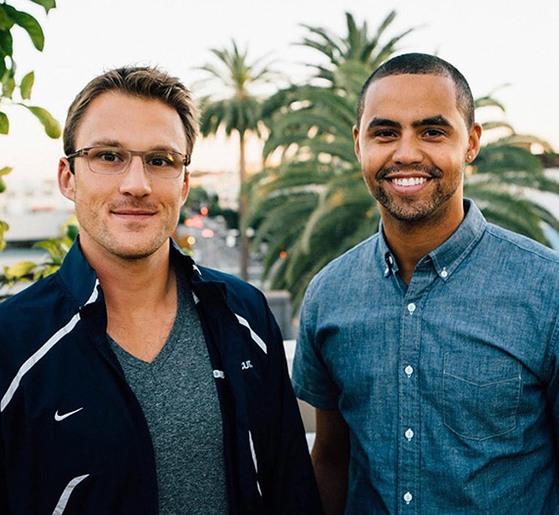 (왼쪽부터) 홈 히어로 창업자 마이크 타운센드(Mike Townsend)와 카일 힐(Kyle Hill). [사진 홈 히어로 홈페이지]