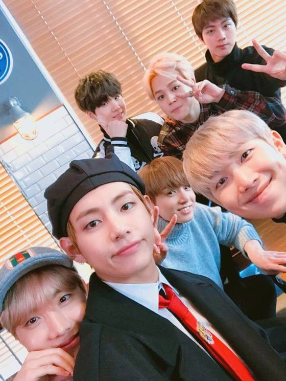 Photo from BTS' Facebook