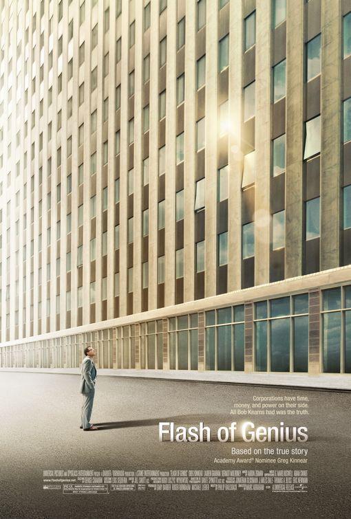 영화 '플래시 오브 지니어스(Flash Of Genius)' 포스터.