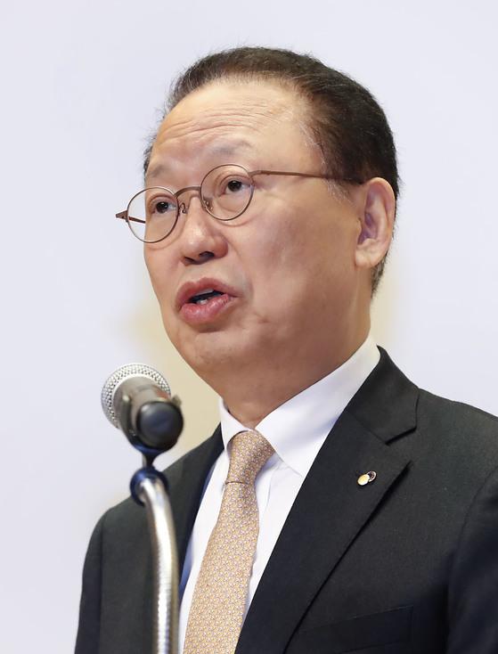 최흥식 금융감독원장. [연합뉴스]