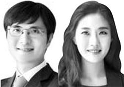 이용진 시니어 파트너(左), 김보영 김보영 부파트너(右)