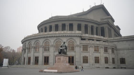 예레반 오페라 하우스.