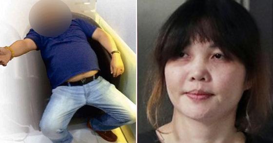 지난해 2월 말레이시아 쿠알라룸푸르 국제공항에서 암살된 김정남(왼쪽)과 김정남 살해 혐의로 기소된 베트남 출신 피고인 도안 티 흐엉(오른쪽) [중앙포토, 연합뉴스]