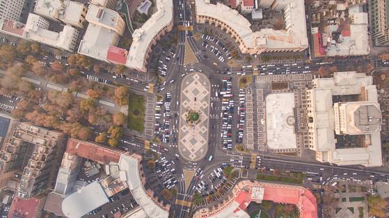 예레반 공화국 광장.