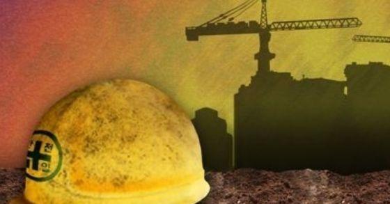 서울 강서구의 한 건설장비업체 야적장에서 천공기에 매달린 철제 파이프가 떨어져 아래에 있던 30대 노동자가 숨졌다. [사진 연합뉴스]