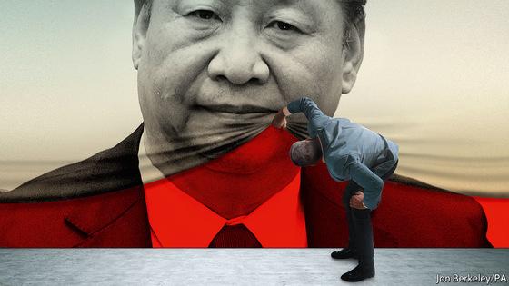 영국 시사지 이코노미스트 표지에 등장한 시진핑 중국 국가주석. [사진=이코노미스트]
