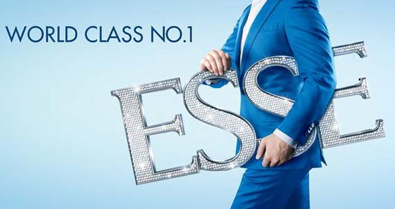 ESSE는 세계 50여 개국 수출을 통해 해외시장에서도 브랜드 위상을 높이고 있다.