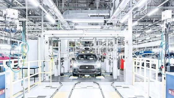 닛산 영국 선덜랜드 공장에서 생산 중인 SUV 캐시카이. [사진 닛산]