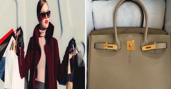 (왼쪽 사진은 기사 내용과 관계 없는 쇼핑 이미지 사진) 오른쪽 사진은 원씨가 블로그에 올려 빠르게 구매해주겠다고 한 명품 가방 [경기 평택경찰서 제공=연합뉴스]