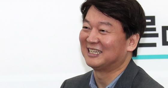 안철수 바른미래당 인재영입위원장. [중앙포토]