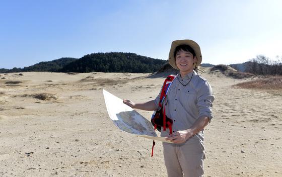 충남 태안 신두리해수욕장에는 국내 최대 해안사구(모래언덕)가 있다. 프리랜서 김성태