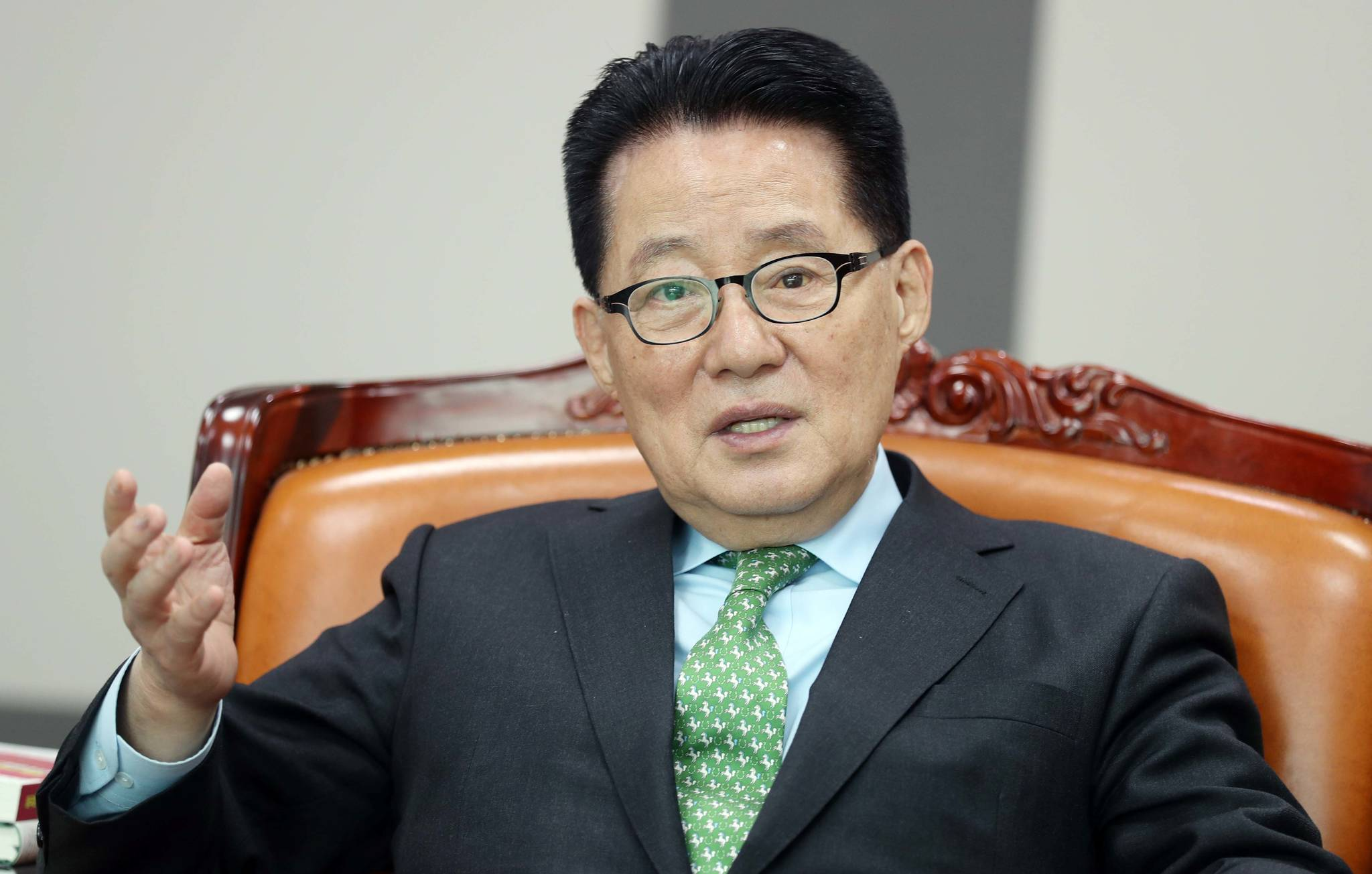 박지원 민주평화당 의원. [중앙포토]