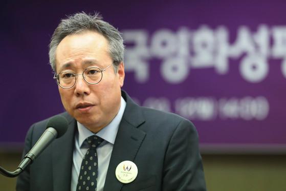 오석근 영화진흥위원회 위원장. [뉴스1]