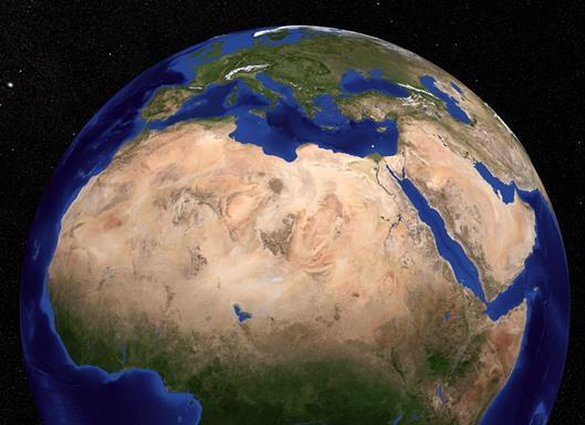 사하라 사막의 모습[미국 메릴랜드 대학 홈페이지=연합뉴스]