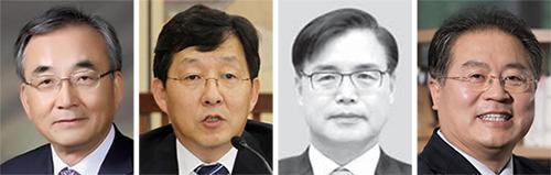 왼쪽부터 최정표, 반상진, 권평오, 이재영.