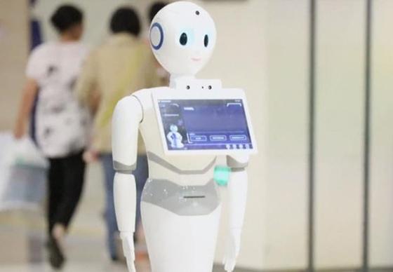 중국 인공지능 로봇 샤오이(小醫). [연합뉴스]