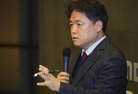 신년 기자간담회에 참석한 MBC 최승호 사장 [사진 MBC]