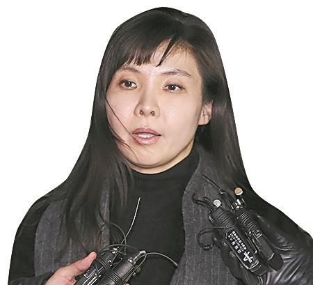 법무부 고위간부의 성추행 의혹을 폭로한 서지현 검사. 우상조 기자