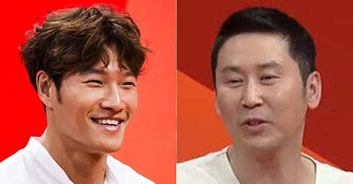 가수 김종국(왼쪽)과 개그맨 신동엽(오른쪽) [SBS 미운우리새끼 화면 캡처]