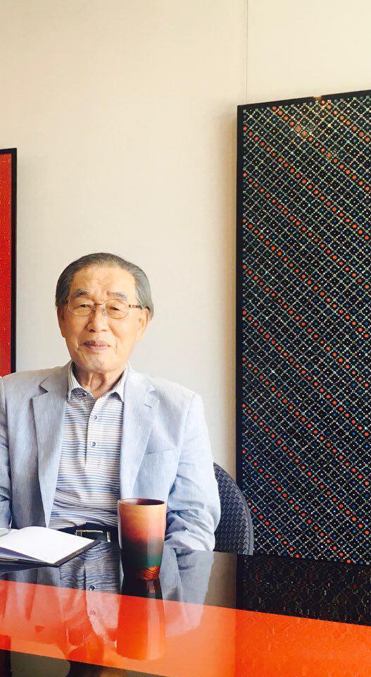 장인 인터뷰 모습 2017년 [사진 이정은]
