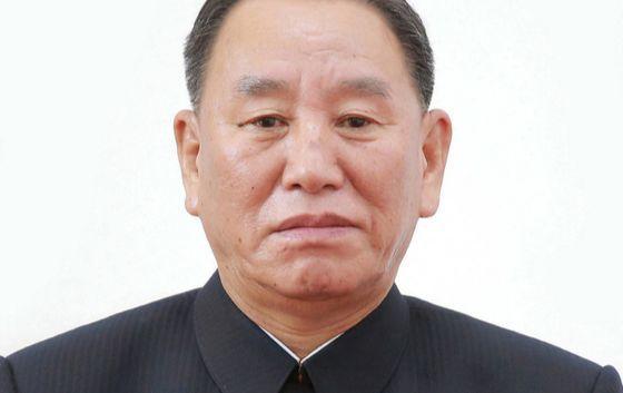 김영철 북한 노동당 중앙위원회 부위원장. [중앙포토]