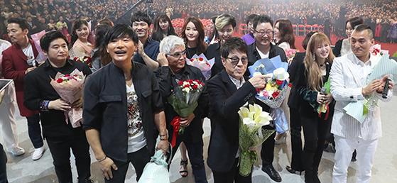 남북 합동공연 '다시 만납시다'