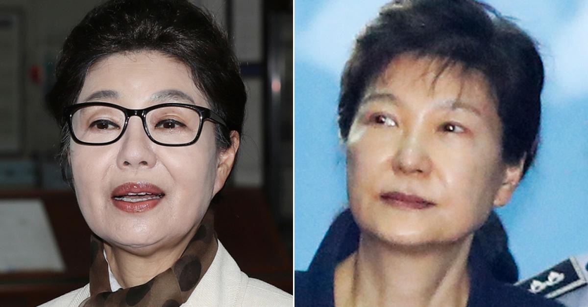 박근혜 전 대통령의 동생 박근령 전 육영재단 이사장(왼쪽)과 박 전 대통령 (오른쪽) [뉴스1, 중앙포토]
