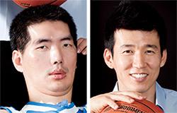 박승일(左), 션(右)